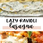 baked ravioli lasagna recipe