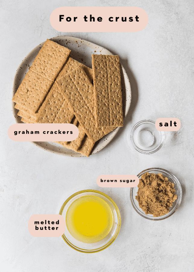 ingredients needed for pumpkin cheesecake crust