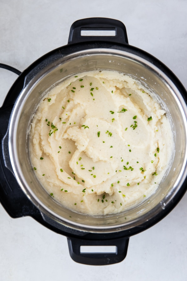 mashed potatoes in an instant pot