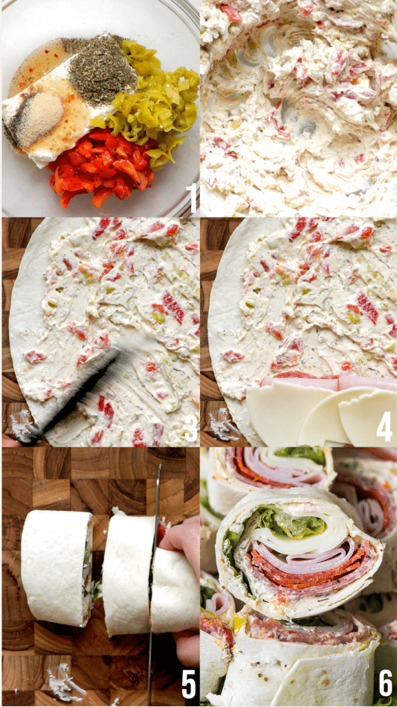 italian pinwheel step by step photos