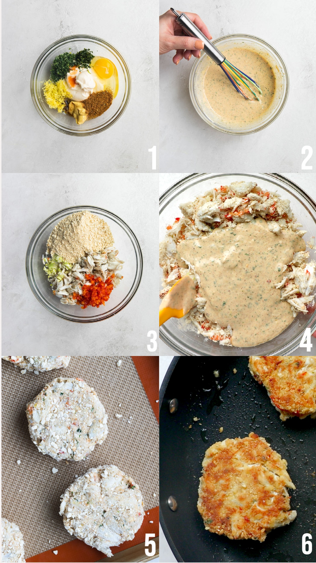 photos of how to make crab cakes