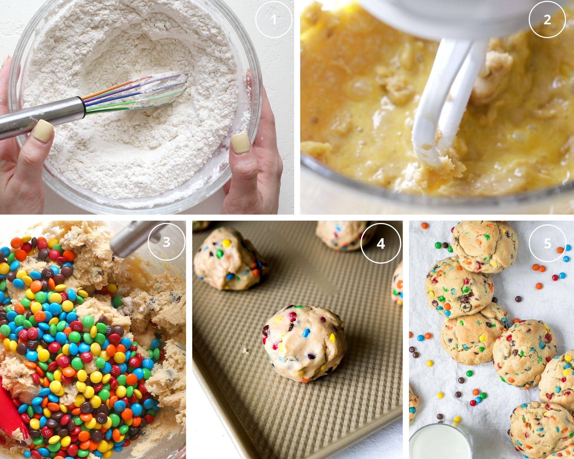 how to make cookies step by step photos