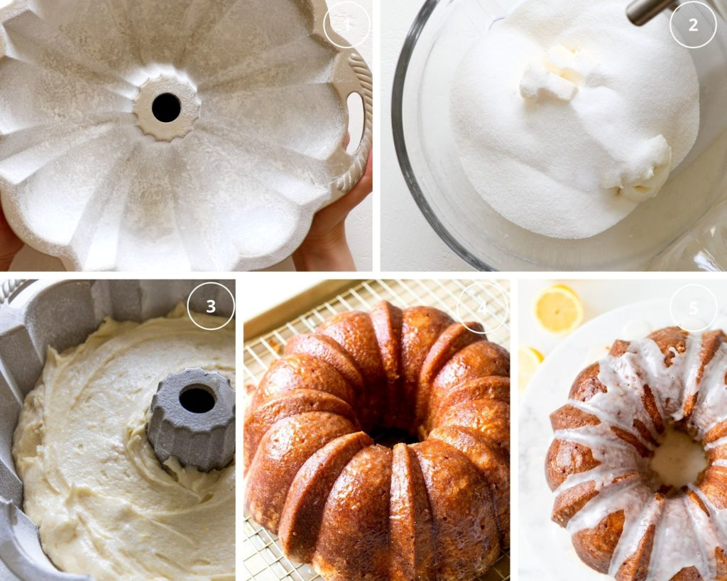 step by step photos making dessert